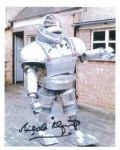 Michael Killgareth (Cyberman, Dr Who) - Genuine Signed Autograph 7388